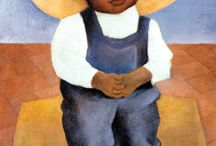 Art: Diego Rivera / Mexican painter 1886-1957. Mexican Mural Movement.