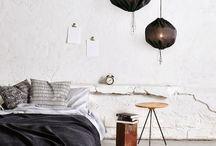 Bedroom inspiration / Interior
