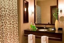Bathroom African Style