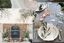 WEDDING COLOR SCHEMES // IDEAS