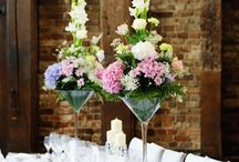 Flower Inspiration: Large Arrangements / Inspiration for the use of fresh flowers