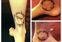 Tattoos / by Brandy Fabian
