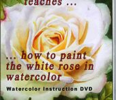 Watercolor DVDs - Art Instructions on DVD / My Watercolor DVDs are created to help you to create stunning watercolor paintings by your own. I love to share what I know about watercolor. I am self-taught and watercolor is a fantastic journey. My Watercolor DVDs give indepth instruction and understanding of WHAT and WHY. Learn to use colour temperature, cool and warm colours, lights and darks, different sort of edges to create complete stunning paintings by your own.