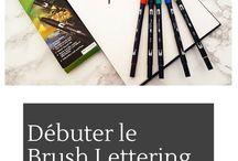 Brush Letter