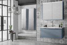 Colourful Bathroom Furniture / A range of colourful bathroom furniture from Utopia Bathrooms.