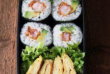 Bento-inspiration / Inspiration för matlådan (på japanska bento).