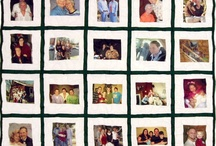 Photo Quilts / These quilts show off our photo square service as well as your beautiful pictures. / by Campus Quilt Company