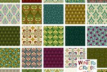 Deco Elegance by In The Beginning Fabrics / Deco Elegance collection by Jason Yenter for In The Beginning Fabrics