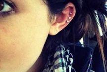 Earrings & tattoos