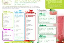 Smoothie recipes / Clean healthy nutritious