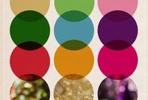 פלטות צבעים / אחח... יש צבעים שמשתלבים כל כך טוב יחדיו ויוצרים חגיגה שלמה לעיניים!