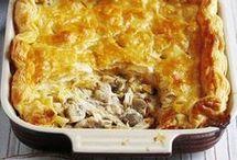 food chicken pie