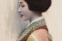 Geisha portraits