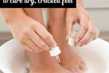 Soft Feet and Skin / Home made products to soothe dryness