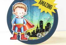 Super Hero Cards