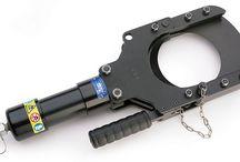 Cembre Tools - Hydraulic Cutting Heads & Hydraulic Crimping Pressheads