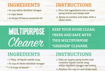 greener cleaners