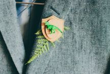 Bouttoneires / Cute and quirky ideas for buttonholes!
