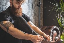 Beards and tatoos