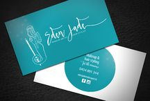 Business Card Design Inspo / My business card designs, designed with love.