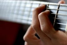 Guitar playing / Guitar tips and tutorials- beginner to intermediate / by Jennifer Lycke, Artist and Photographer