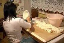 výroba syru- parenica