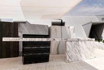 PRODUCTS desks / outdoor design - marble