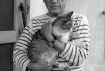 L'homme et le chat