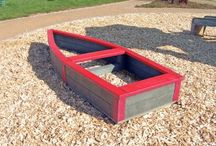 Recycled Plastic Sandboxes / The hanit® sandboxes made from recycled plastic, guarantee many years of maintenance-free fun.  Even with wet sand, which accelerates the rotting of wood sandboxes, a recycled plastic sandbox will maintain its appearance.  Playgrounds, nurseries and and home gardens are ideal applications for our recycled plastic sandboxes.  http://www.hahnplastics.com/hanit-sandboxes/