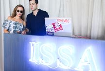 Issa Party at Soho Beach House, Miami / With the Fashion Illustration Gallery and in support of the British Fashion Council, during Art Basel, December 2013 / by Issa