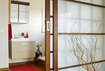 sliding doors and walls