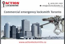 Commercial emergency locksmith Toronto