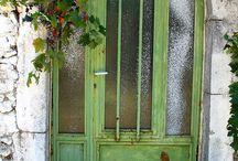 Doorways.