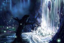 Painting: Waterfalls