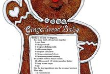 Gingerbread / Cookies, house, recipies