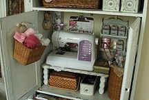 Craft & sewing room