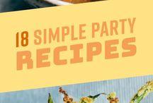 Party Recipes (GF DF focused)