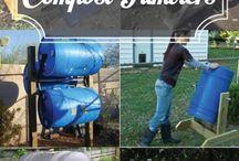 Compost tumlers