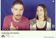 Instagram Nuovo video-follia de #ipatafisici: http://bit.ly/undecalogo - tra SComandamenti, sputi alla videocamera e #nonsense pieni di sensatezza!  #youtube #patafisica