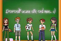 szkoła z klasa