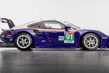 Dos Porsche 911 RSR con diseño histórico para Le Mans / Los Porsche 911 RSR nº 91 y 92 competirán en Le Mans con diseños históricos de los años 70 y 80.