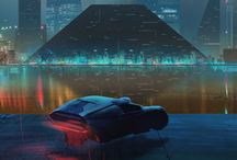 Sci-fi scenery