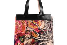 Universal Bag - Octopus's Garden / Women Leather Handbags, Limited Edition Designer Leather Bag COLOURS OF MY LIFE - Limited Edition wearable art signed by Anca Stefanescu.