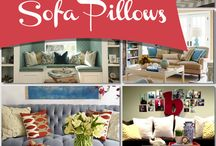 How to arrange cushions