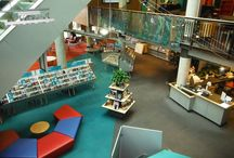 Railings, stairs & ramps in libraries