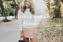 Hot Boutiques to Follow