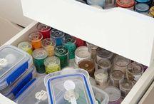 craft workshop - set up ideas