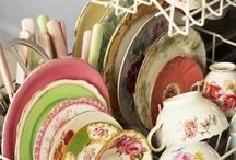 Dishes, Dishes, I love dishes! / by Patti Tunnell