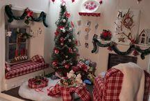 Christmas tree diy / Miniature