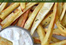 parsnip fries w/ horseraadish mayo
